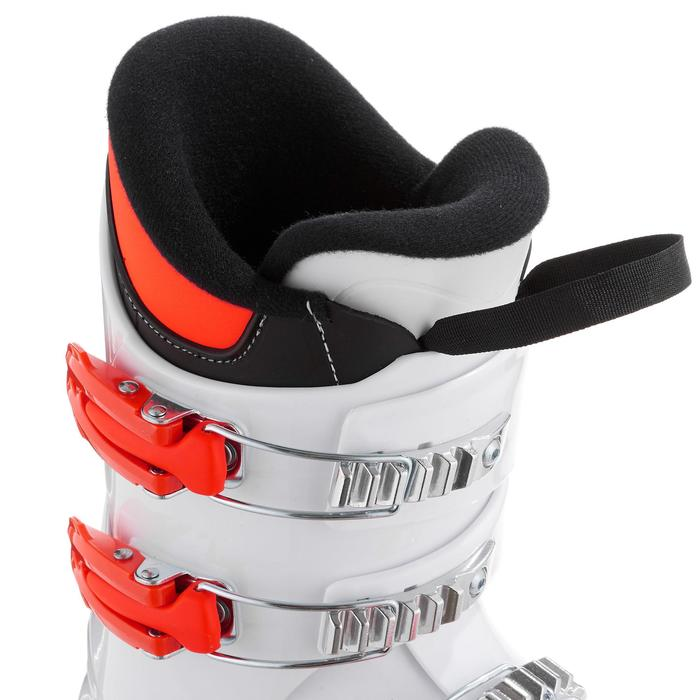 rossignol chaussures de ski enfant hero j4 blanches. Black Bedroom Furniture Sets. Home Design Ideas