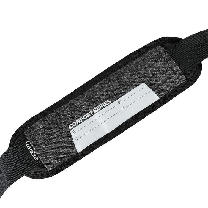 SKI BOOT BAG 500 - GREY AND BLACK