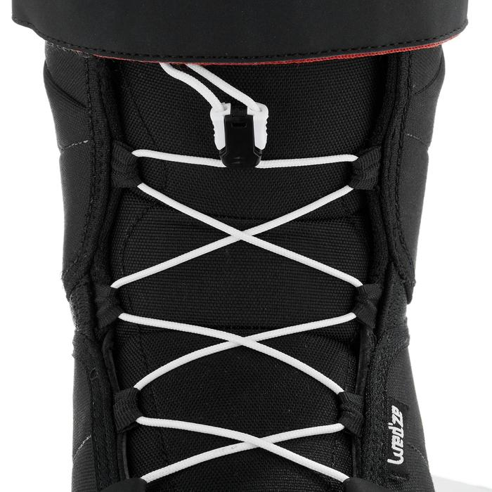 Chaussures de snowboard, all mountain, homme, Foraker 300 - Fast Lock 2Z, noires - 1221621