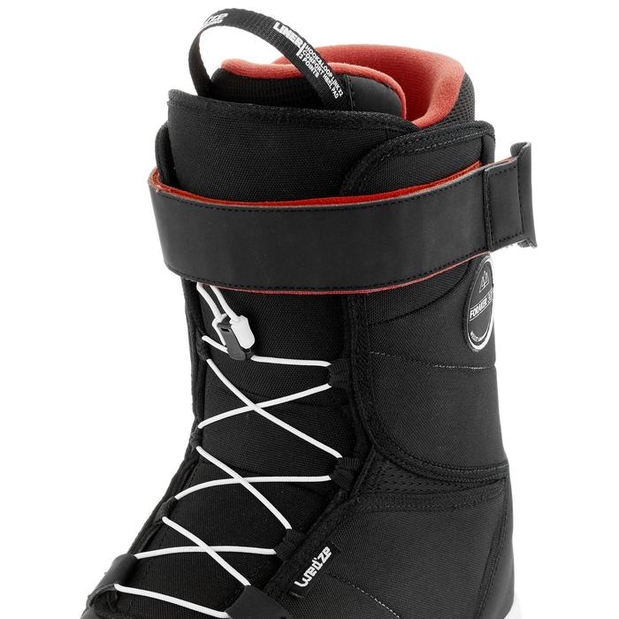 Chaussures de snowboard, all mountain, homme, Foraker 300 - Fast Lock 2Z, noires - 1221630