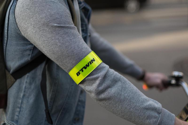 500 Visibility Leg / Armband - Yellow