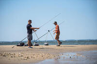 Teleskopinis trikojis 4 meškerėms žvejybai jūroje