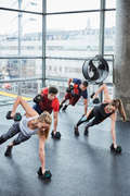ZÁVAŽÍ NA KRUHOVÝ TRÉNINK Fitness - ČINKA HEX DUMBBELL 5 KG DOMYOS - Posilování a kruhový trénink