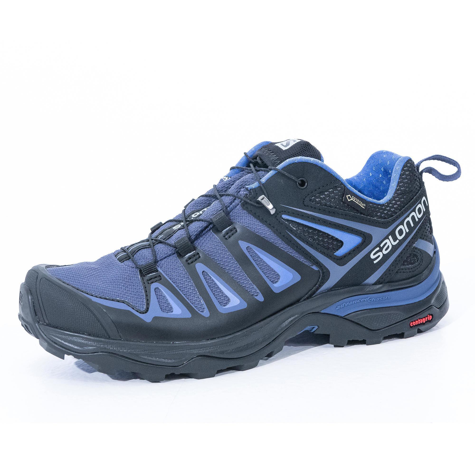 0e844ded81c Salomon Wandelschoenen voor dames Salomon X Ultra Gore-tex grijs/blauw  kopen met voordeel