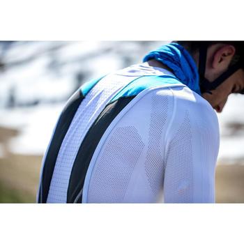 Lange fietsbroek met bretellen voor heren Aerofit