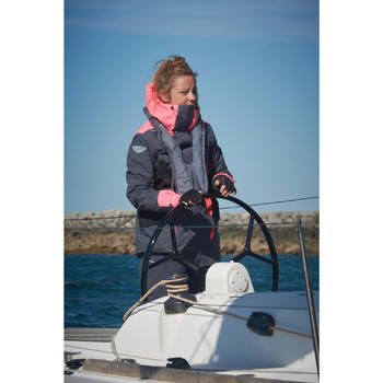 Veste parka bateau femme 500 - 1222091