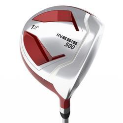 Golf driver 500 voor kinderen van 8-10 jaar rechtshandig