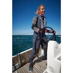 Forro polar barco mujer CRUISE gris / rosa