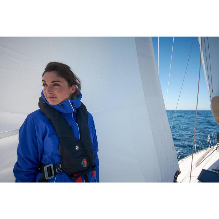 Ciré chaud bateau femme 100 bleu marine
