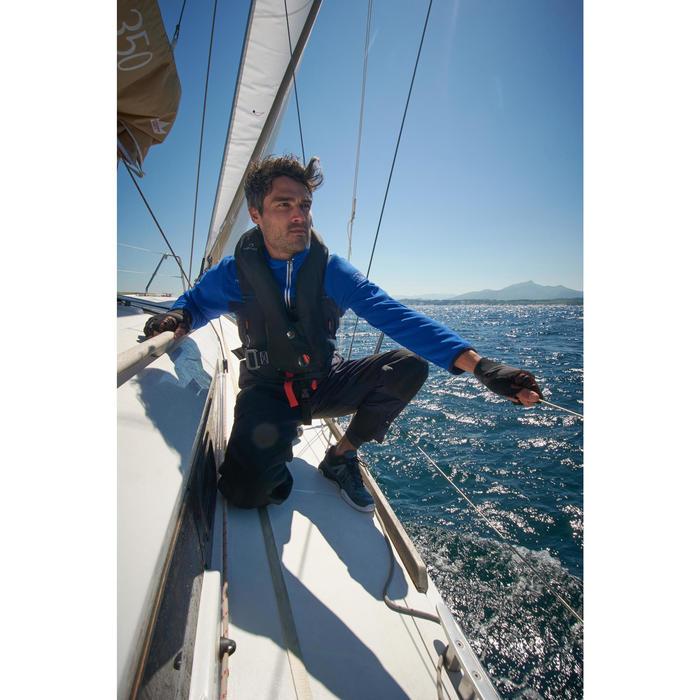 Polaire bateau homme RACE tricolore bleu foncé - 1222191