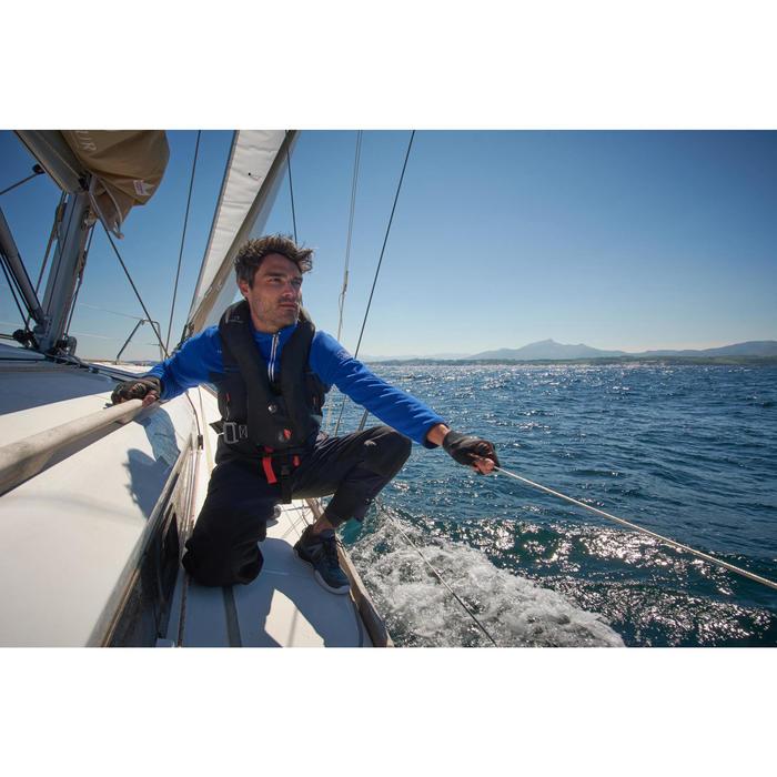 Polaire bateau homme RACE tricolore bleu foncé - 1222192