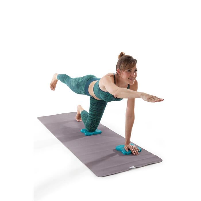瑜珈護膝與護腕墊 - 土耳其藍
