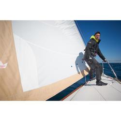 Chaqueta parka náutica 500 gris / negro