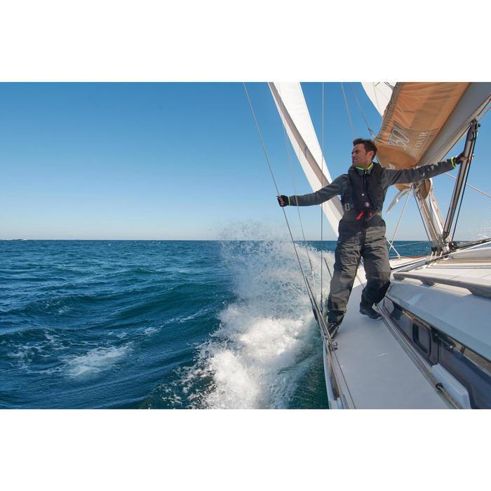 Zeilfleece heren Cruise donkerblauw/marineblauw