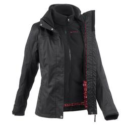 3-in-1-Jacke Rainwarm 100 Damen