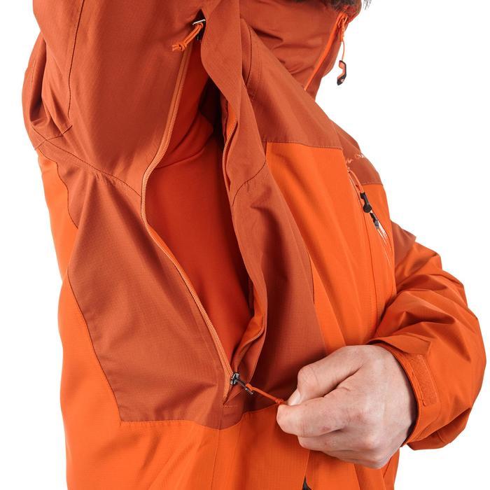 3-in-1 trekkingjas voor heren Rainwarm 500 oranje