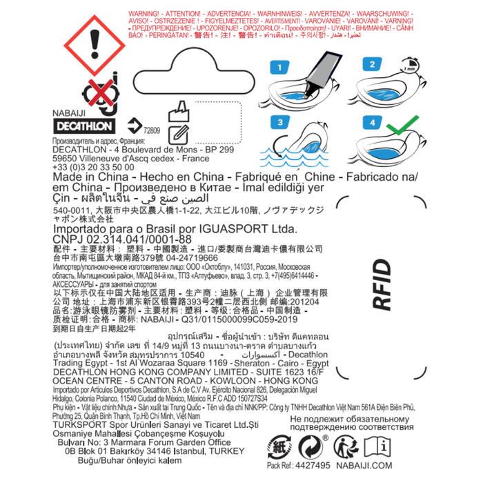 Anti-condens stick voor zwembril