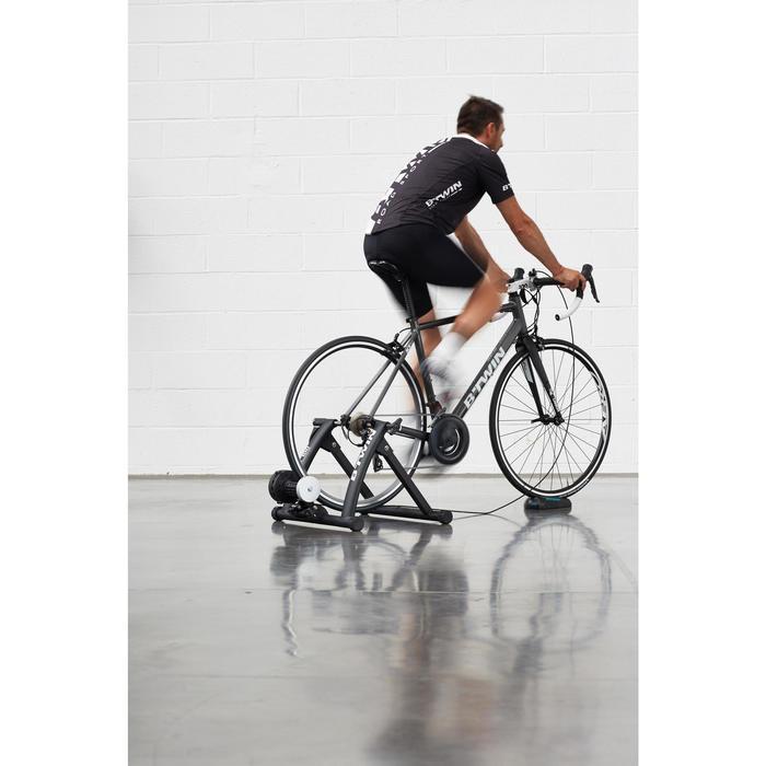 Rodillo Entrenamiento Home Trainer B'twin In'Ride 100 Negro