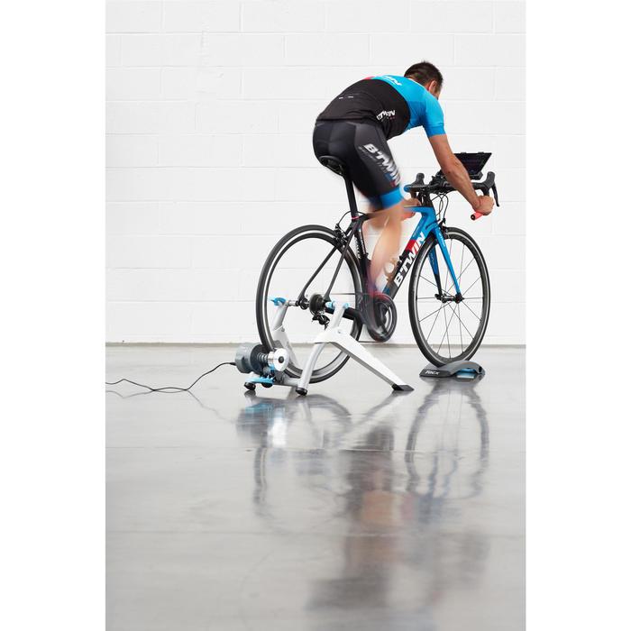 Fietstrainer Flow Smart met voorwielsteun