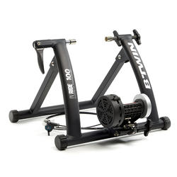 Rodillo Entrenamiento Home Trainer B'twin In'Ride 100 Negro