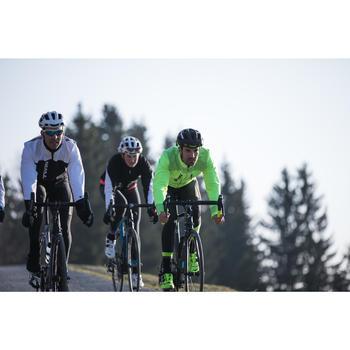 Fietsjasje wielertoerisme 520 heren voor koud weer fluogeel
