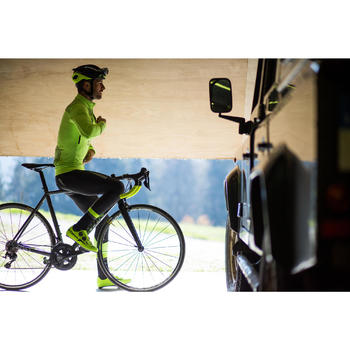 Fahrradjacke 520 Radsport Herren kaltes Wetter neongelb