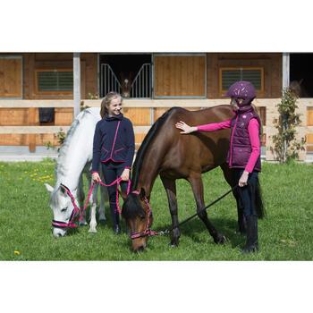 Casque équitation  SAFETY prune
