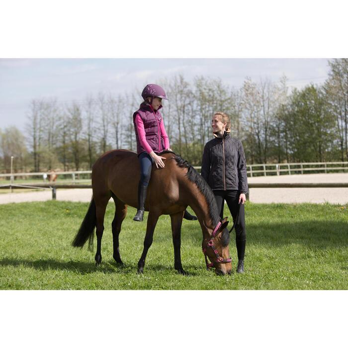 Casque équitation SAFETY CABRIOLE rouge et - 1222620
