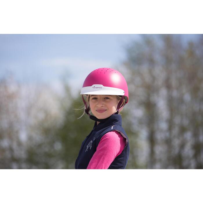 Casque équitation 100 - 1222683
