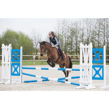 Polo manches longues équitation enfant INDIAN PONEY - 1222691