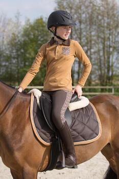 Casque équitation 500 - 1222693