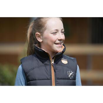 Gilet chaud équitation fille PADDOCK - 1222707