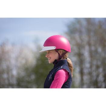 Casco de equitación 100 Rosa