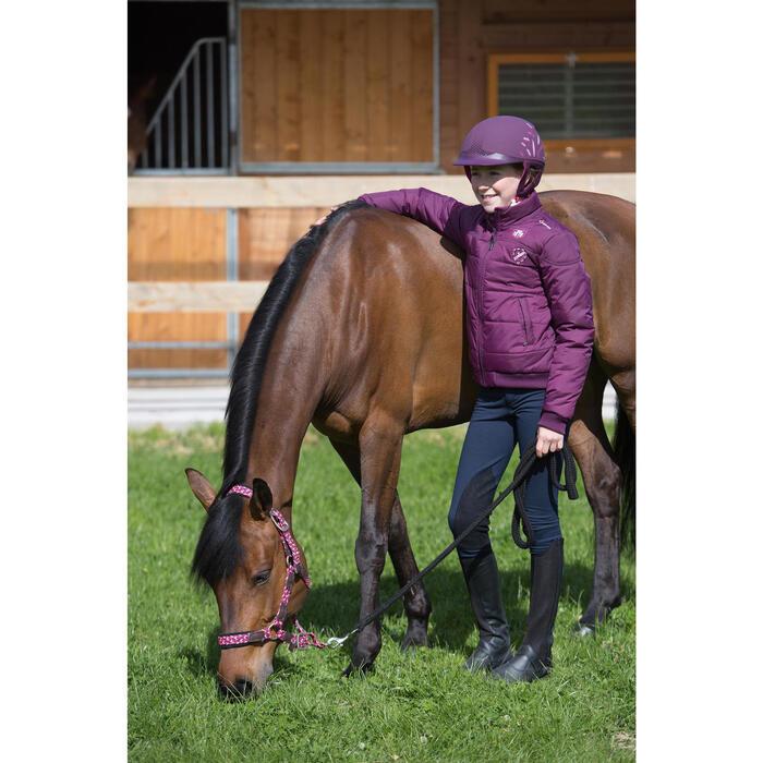 Casque équitation SAFETY CABRIOLE rouge et - 1222724