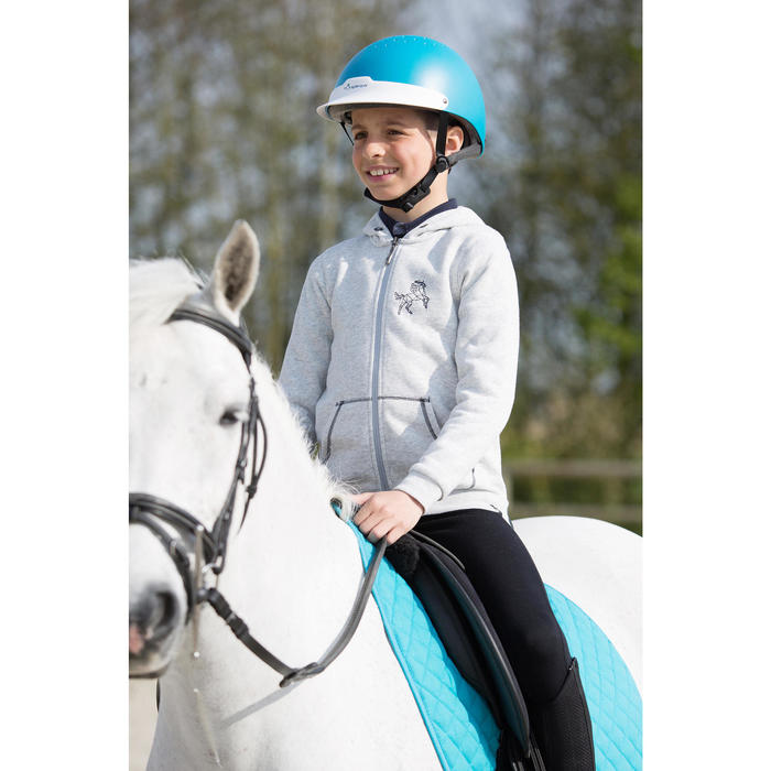 Casque équitation 100 - 1222735