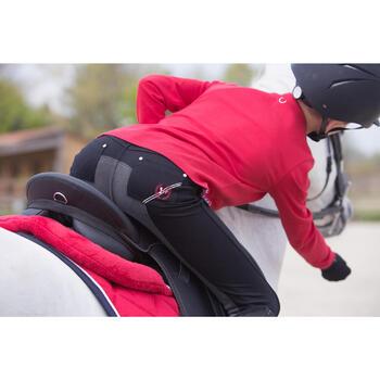 Polo manches longues équitation garçon HORSE - 1222745
