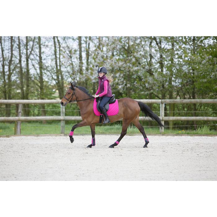Gilet chaud équitation fille PADDOCK - 1222777