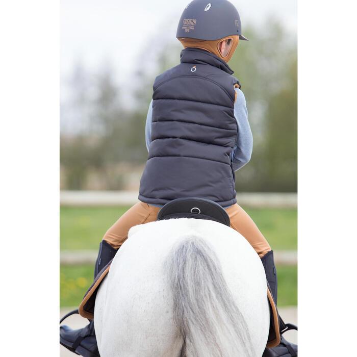Gilet chaud équitation fille PADDOCK - 1222798