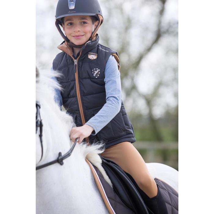 Gilet chaud équitation fille PADDOCK - 1222800
