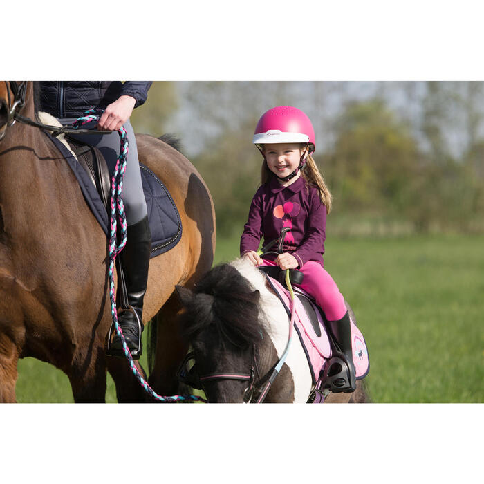 Casque équitation 100 - 1222814