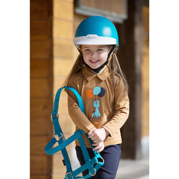Casque équitation 100 - 1222840