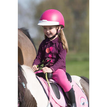 Casque équitation 100 - 1222842
