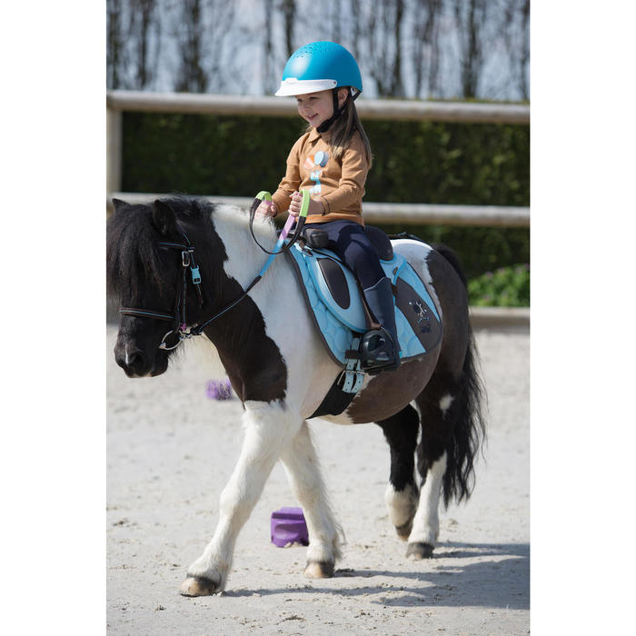 Casque équitation 100 - 1222843