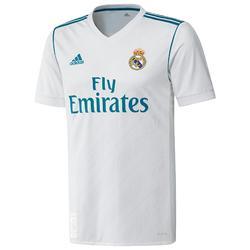 Voetbalshirt replica van het thuismodel van Real Madrid voor volwassenen wit