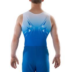 Leotardos de Gimnasia Artística Masculina (GAM) Niño Azul