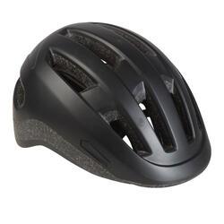 城市自行車安全帽500黑色