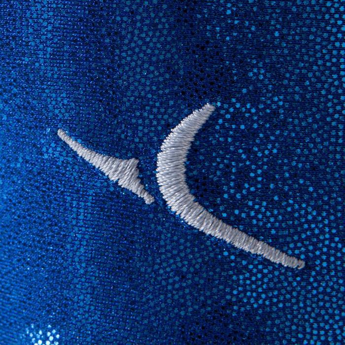Justaucorps sans manches Gym Féminine (GAF) paillette/strass/voile - 1223039