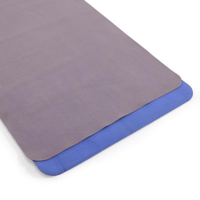 Tapis / Sur-tapis yoga pliable épaisseur 1,5 mm caoutchouc beige