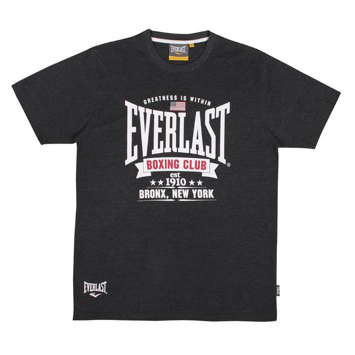 T-Shirt Boxen Everlast Charco dunkelgrau