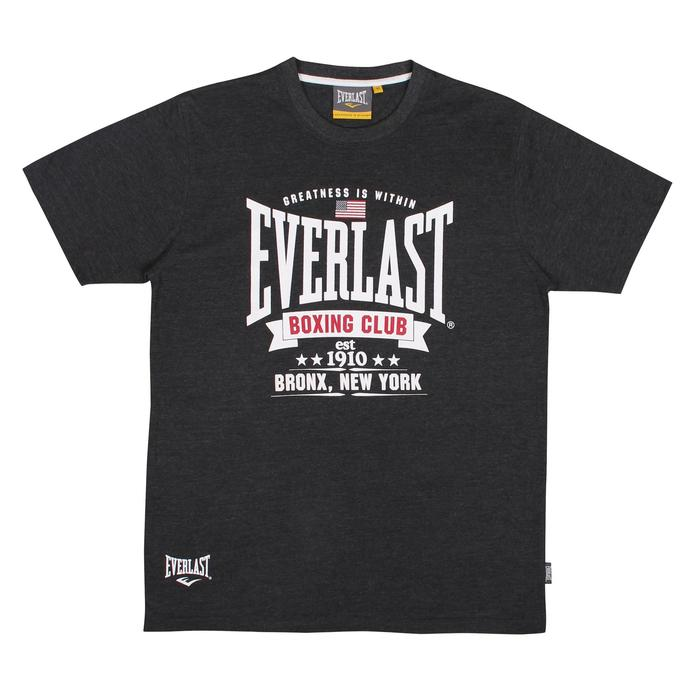 TEE SHIRT BOXE EVERLAST CHARCO GRIS FONCE - 1223247